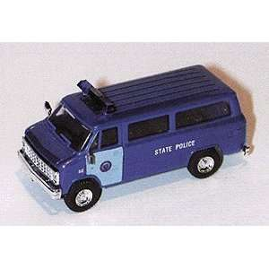 Trident HO Massachusetts State Police   Chevy Van Toys & Games