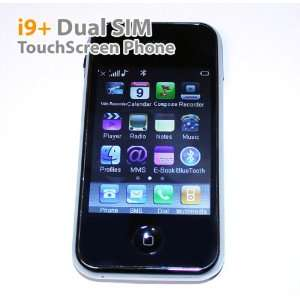 New Unlocked Quad band I9+/i68+ Dual SIM Card Mobile Phone