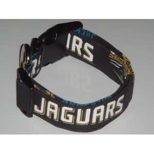 NFL Jacksonville Jaguars Football Dog Collar Small 1