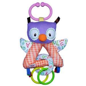 Smarty Kids on the Go Baby Rattle   Owl Toys & Games