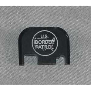 U.s. Border Patrol Slide Cover Plate for Glock