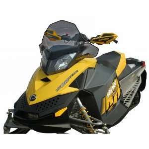 15 inch PowerMadd Cobra Snowmobile Windshield for Ski   Doo REV XP