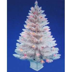 3ft. Edgewater Spruce White Pre Lit Mini Christmas Tree