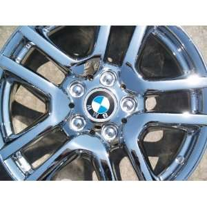 BMW X5Style 130 Set of 4 genuine factory 17inch chrome wheels
