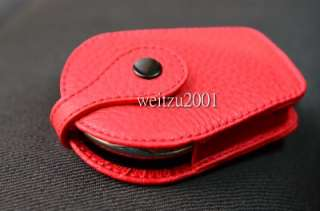 R55 R56 R60 Leather Mini cooper Key Fob countryman Red