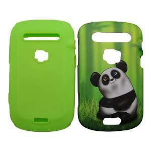 BlackBerry Bold Touch 9900 9930 Bamboo Trees Black White Cute
