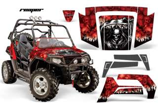 AMR RACING GRAPHICS POLARIS RZR 800 RZRS STICKER KIT AR