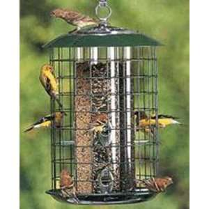 Safe Haven w/Metal Trays   Triple Tube Bird Feeder
