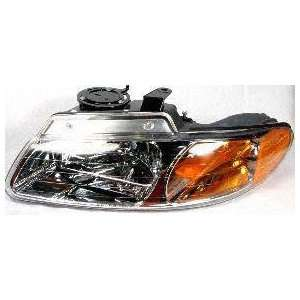 00 CHRYSLER TOWN & COUNTRY VAN HEADLIGHT LH (DRIVER SIDE) VAN, Without