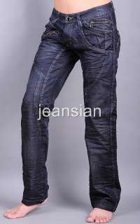 3mu Mens Designer Jeans Pant Denim Fashion Stylish Galaxy W30 32 34
