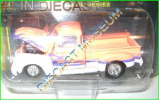 CHEVY CHEVROLET TRUCK PICKUP P/U PINK DIECAST HOT ROD MAGAZINE 50TH RC