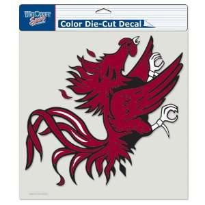 South Carolina Gamecocks Die Cut Decal   8in x8in Color