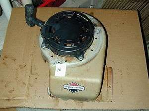 Briggs & Stratton 5HP Vertical Engine Push Mower   Pull Starter