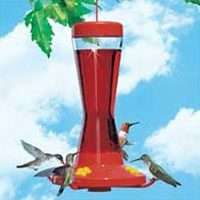 NEW WOODSTREAM 210P PERKY PET 16OZ GLASS HUMMINGBIRD BIRD FEEDER NO
