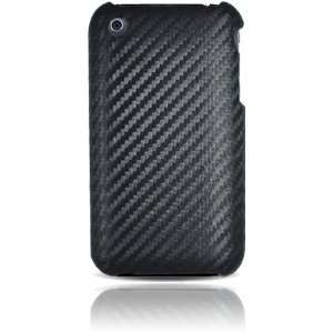iPhone 3G and iPhone 3GS Fabric Case   Black Carbon Fiber