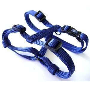 Hamilton Adjustable Comfort Nylon Dog Harness, Navy Blue