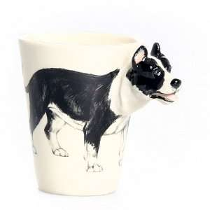 Black and White Pit Bull Terrier Mug