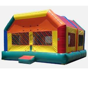 Extra Large Fun House Bounce House (Commercial Grade) Toys & Games