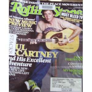 Rolling Stone Magazine October 20 2005 Paul McCartney