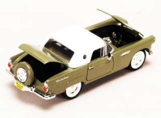 Showcasts Motormax 1956 Ford Thunderbird diecast car 124 G scale 7.5