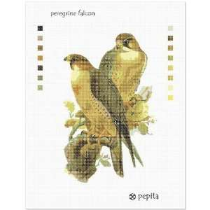 Peregrine Falcon Needlepoint Canvas Arts, Crafts & Sewing
