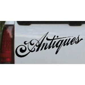 Antiques 3 Swirl Business Car Window Wall Laptop Decal