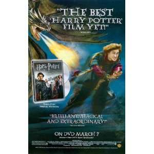 Harry Potter & the Goblet of Fire DVD release Great Original Photo