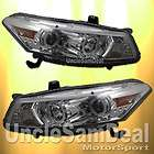 HONDA ACCORD COUPE DUAL CCFL HALO RIM ANGEL EYE PROJECTOR HEADLIGHTS