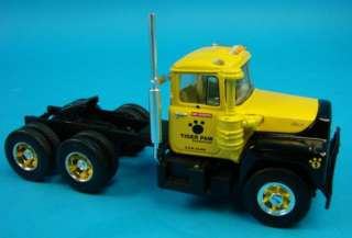 Gear R Mack Truck w/Lowboy Trailer Die Cast Model New in Box