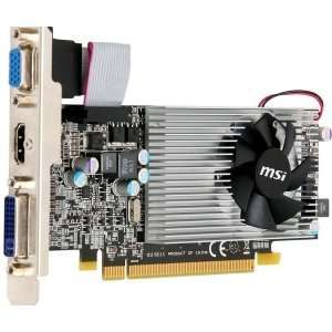 MSI R5550 MD1G Radeon 5550 Graphic Card   550 MHz Core   1