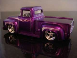 1956 Ford F100 Street Rod Pickup 1/64 Scale Limited Edition 2 Detailed