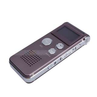 Digital Audio Voice Recorder Pen Dictaphone  Player FM Claret red