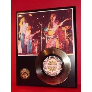 Gold Record Outlet Led Zeppelin 24kt Gold Record Display
