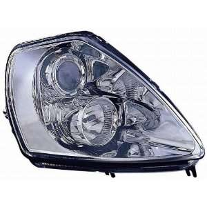 314 1132PXAS1 Mitsubishi Eclipse Chrome Headlight Assembly Projector