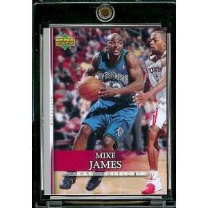 2007 08 Upper Deck First Edition # 65 Mike James   NBA