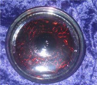 imperial carnival glass grape sugar powder lid ANTIQUE harvest VINTAGE