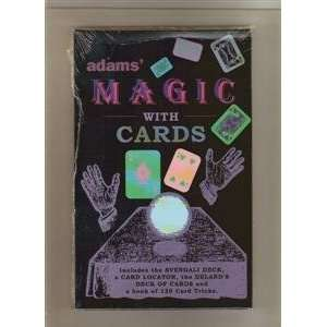 MAGIC SET   ADAMS MAGIC WITH CARDS   Magic Trick K Toys