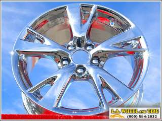 Set of 4 New Lexus IS250 IS350 IS300 18 OEM Chrome Wheels Rims