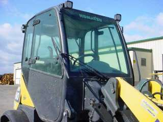 2007 Komatsu WA80 5 Wheel loader with Cab with A/C GP Bucket w/Grapple