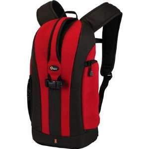 Lowepro Value Bundle, Red/Black Flipside 200SLR Camera Backpack, Added