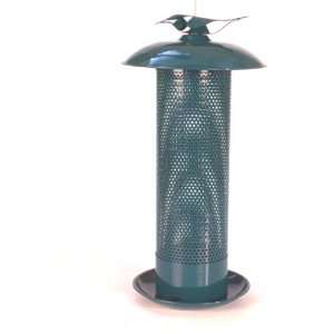 Green Nyjer Bird Feeder 3.3 Quart