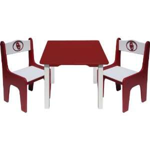 Fan Creations Oklahoma Sooners Table & Chair Set  Sports
