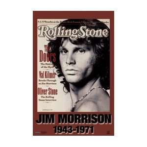 DOORS Rolling Stone Cover Music Poster
