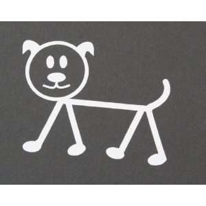 Dog Stick Figure Patio, Lawn & Garden