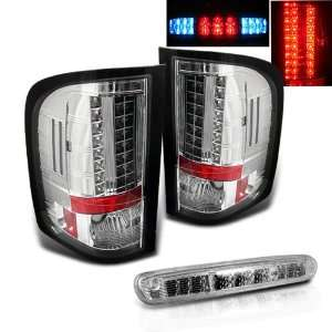 Silverado LED Tail Lights + LED Brake Light Brand New Left + Right Set