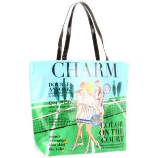 Kate Spade New York Daycation Bon Shopper Charm Tennis Tote   designer