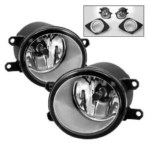 10 11 Toyota Camry OEM Style Clear Fog Lights Kit Automotive