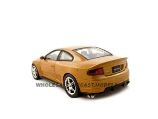 2005 PONTIAC GTO RAM AIR ORANGE 124 DIECAST MODEL CAR