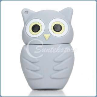 New Lovely Cute Cartoon Owl 4G 4GB Mini USB 2.0 Flash Memory Stick Pen