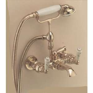 PN Wall Mounted Bath/Shower Mixer With Hose And